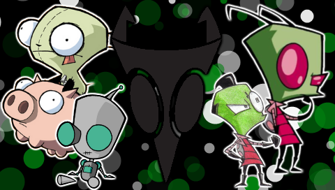 invader zim wallpaper. Invader Zim PSP wallpaper by