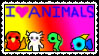 I Love Animals Stamp by puffugu
