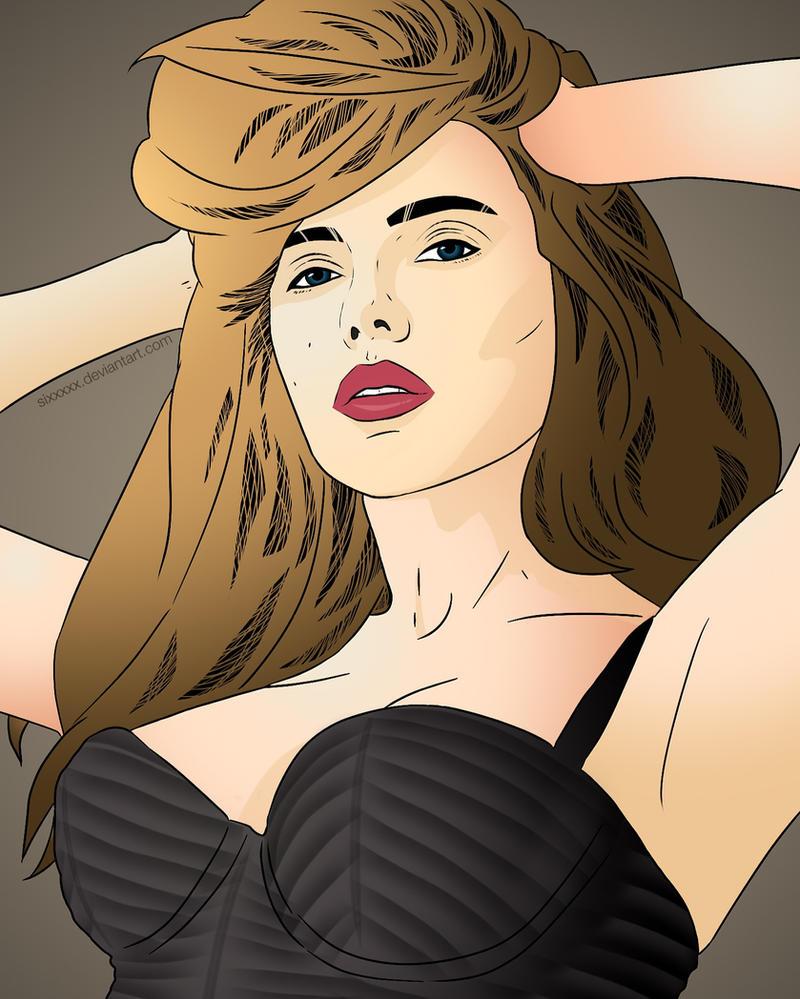 Scarlett Johansson by Sixxxxx