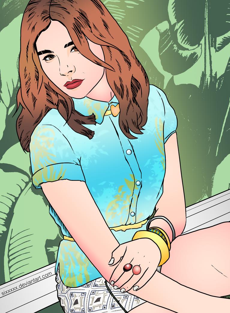 Chloe Grace Moretz by Sixxxxx