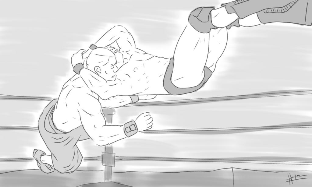 Randy Orton: RKO by Sixxxxx