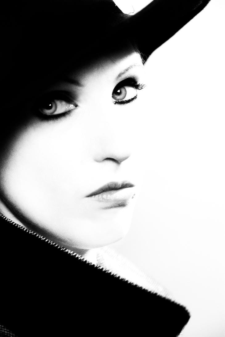 Self portrait Film Noir by Ainanas