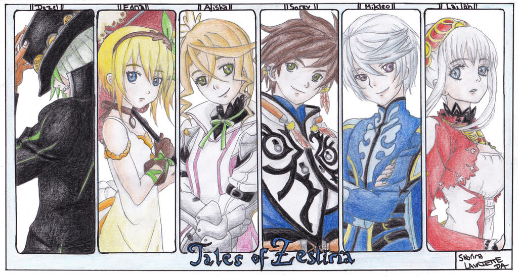 Tales of Zestiria by Lawliette-chan