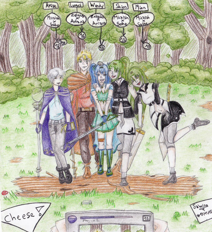 Next Generation 2 ( Fire Emblem RD OC ) by Lawliette-chan