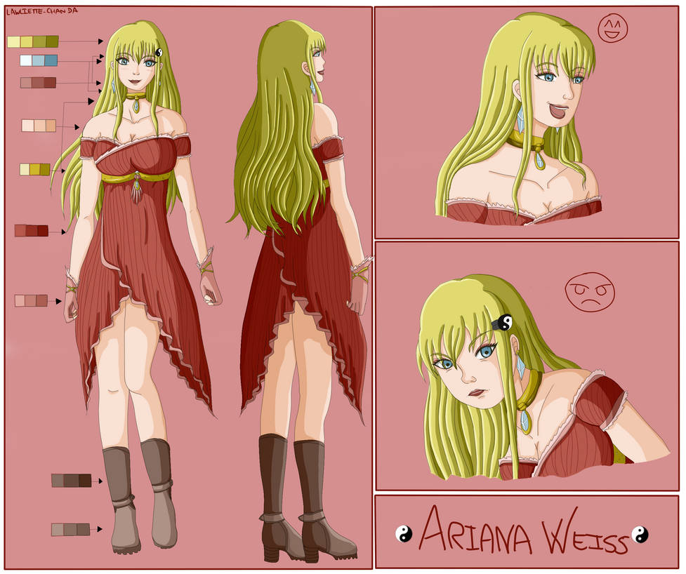 Ariana Weiss [ OC Reference ]