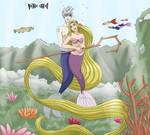 Mermaid Jackunzel ~ by Lawliette-chan