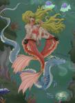 Underwater metamorphosis ~ by Lawliette-chan
