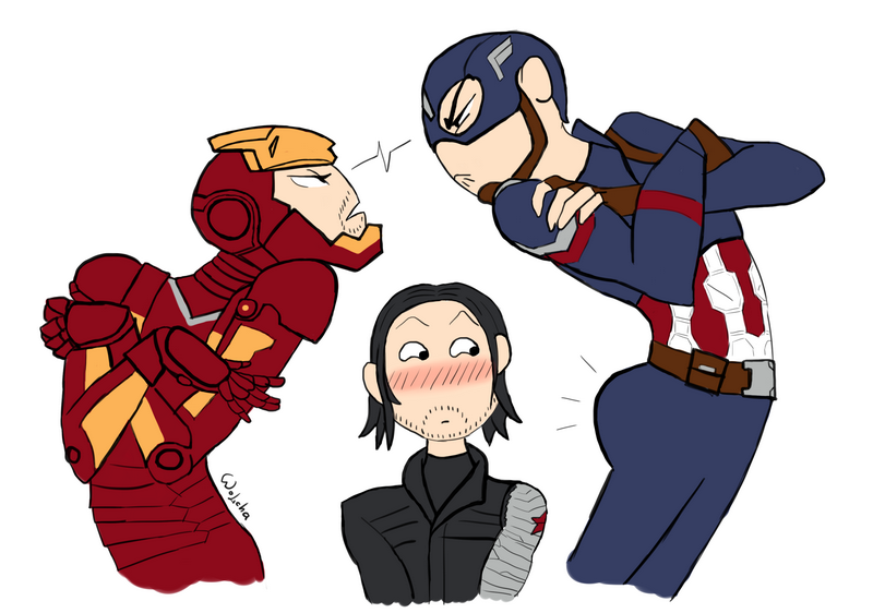 Draw your squad - Civil War by Wolchenka