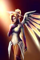Mercy (Overwatch) by Wolchenka