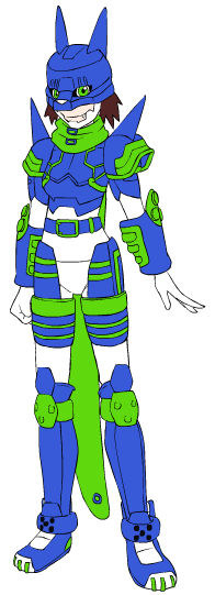 Digimon Fronter Human Spirit OC