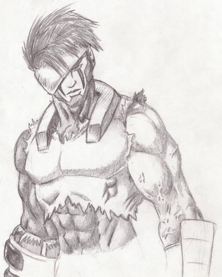 Sketch by Rhiethreal