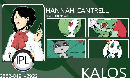 Hannah Cantrell Judge Card by AriadneArca