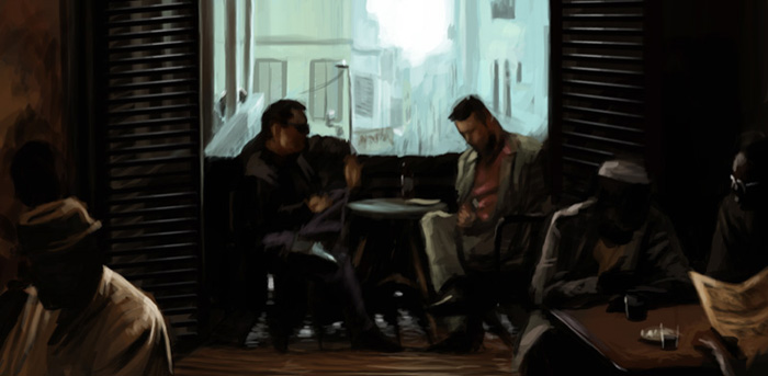Inception - speedpaint by ThrowStoryboards