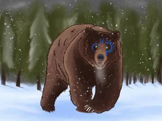 Tribal Bear by Jdriscoll20