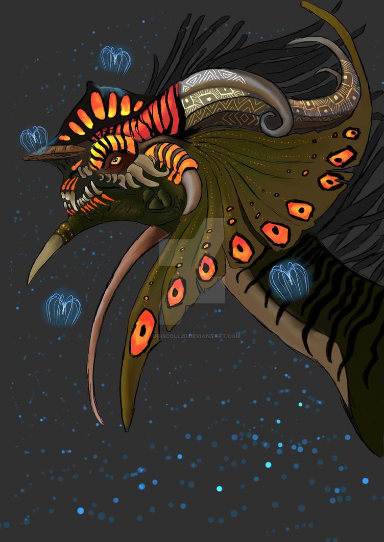 Dragon of Eiwa by Jdriscoll20