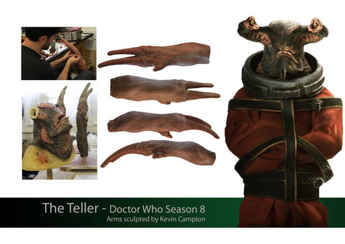The Teller- Arms - Doctor Who s8