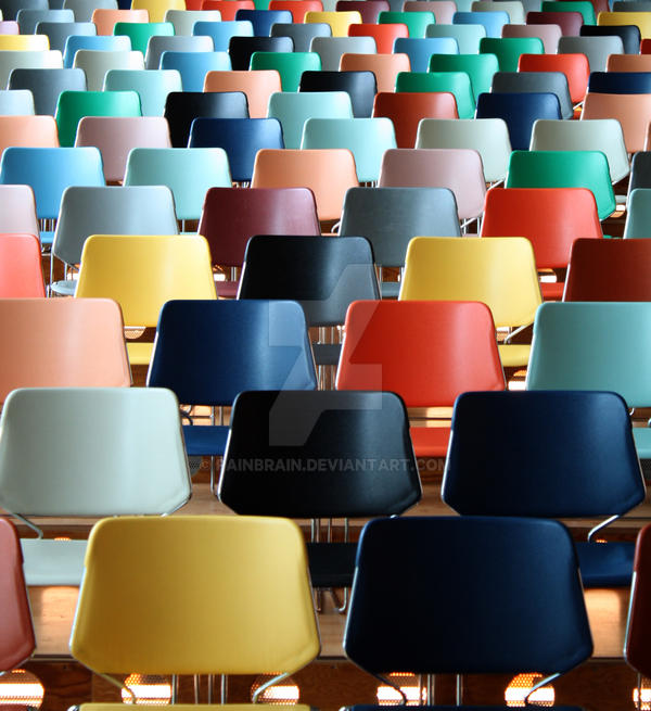 Collorfull Chairs by PainBrain