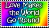 LoveMakestheWorldGoRound stamp
