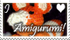 I Love Amigurumi stamp by QueenNekoyasha