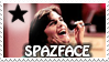 Spazface stamp by QueenNekoyasha