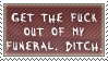 Funeral stamp by QueenNekoyasha
