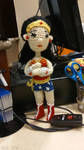 Amigurumi Wonder Woman by QueenNekoyasha