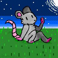 Mouse(unedited) by PeachyPawz