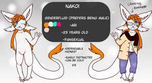 Nakoi ref by PeachhTea