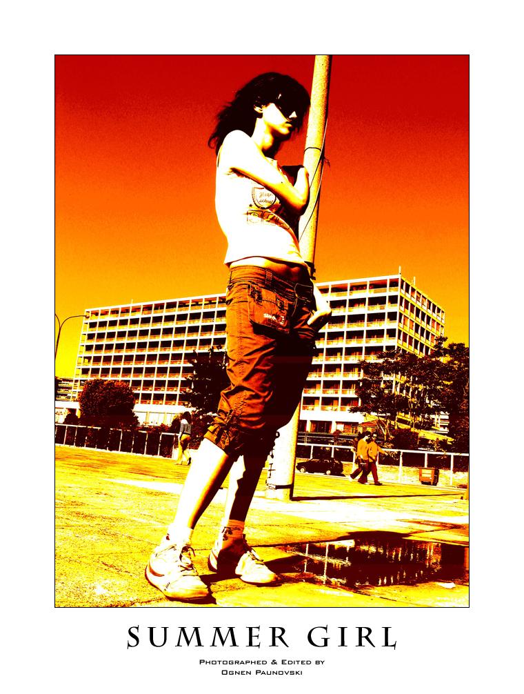 Summer Girl by lokio