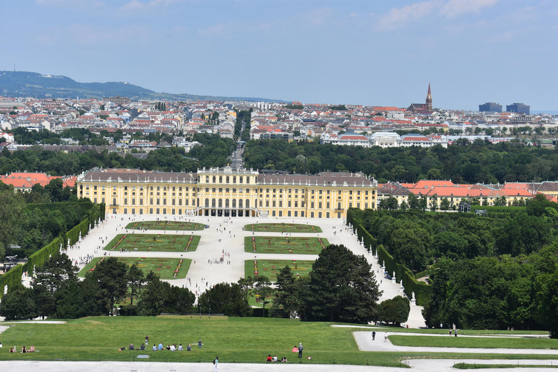 Schonnbrunn, Vienne Imperial Palace by renhob27