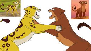 Fuli vs Rani: I love Kion more than you!