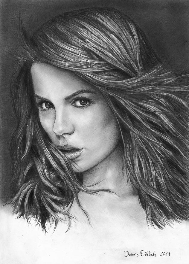 Kate Beckinsale by Jorsch