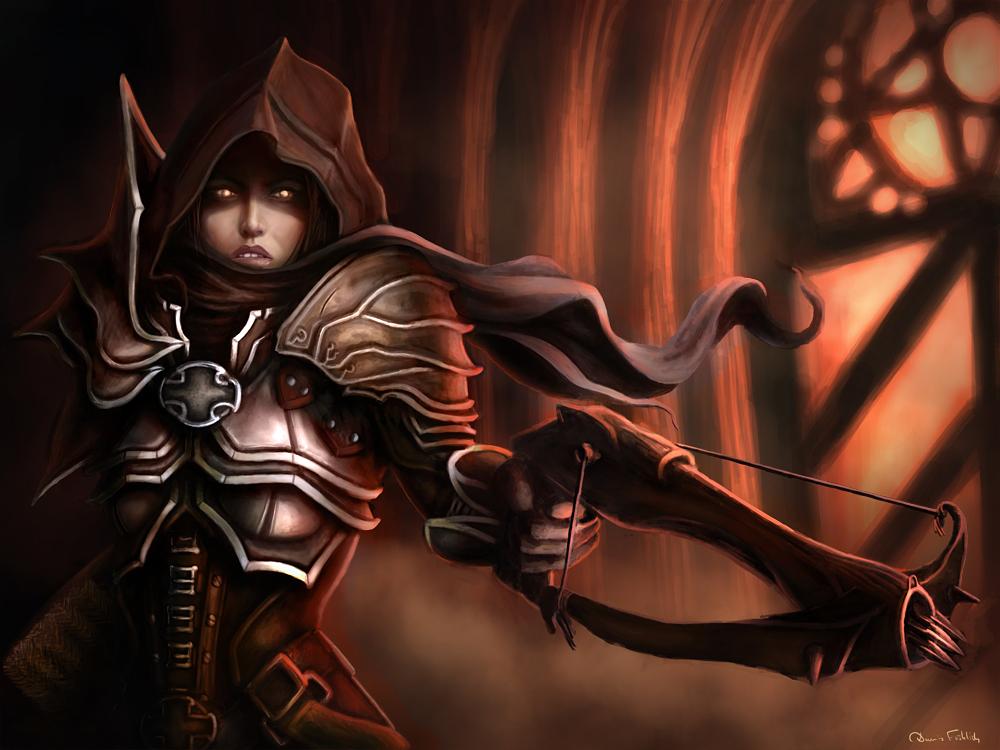 Diablo 3 -  Demon Hunter by Jorsch