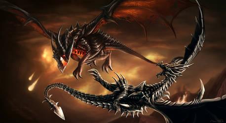 Deathwing vs. Alduin