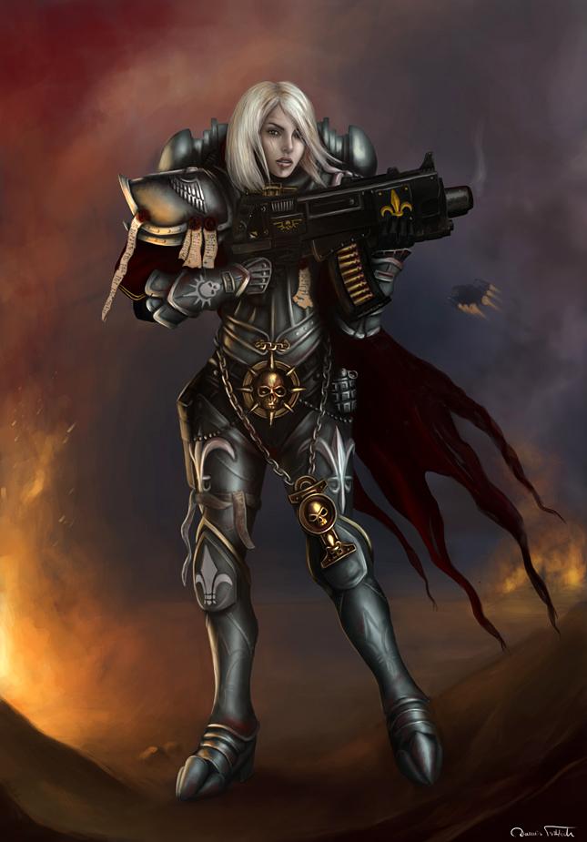 Warhammer40k: Sister of Battle by Jorsch
