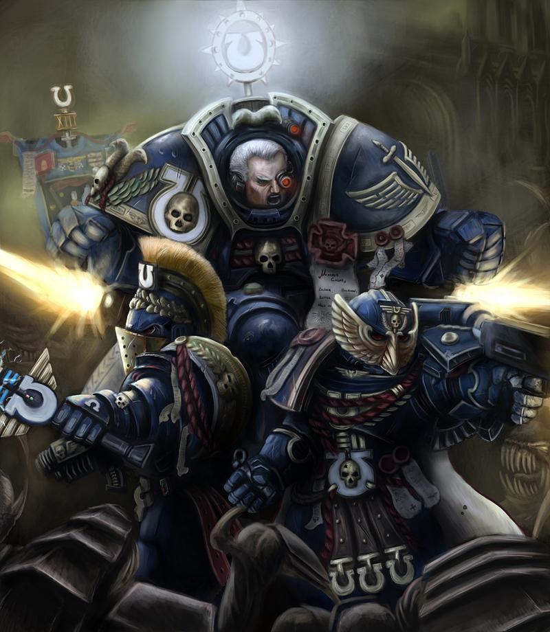 Warhammer 40k: Marneus Calgar and Honor Guard