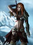Diablo 3 - Female Barbarian