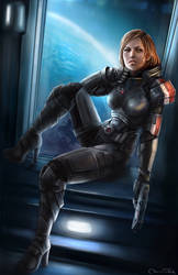 Commander Shepard by Jorsch