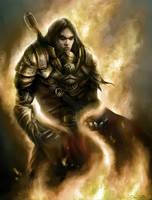 Fire Knight by Jorsch