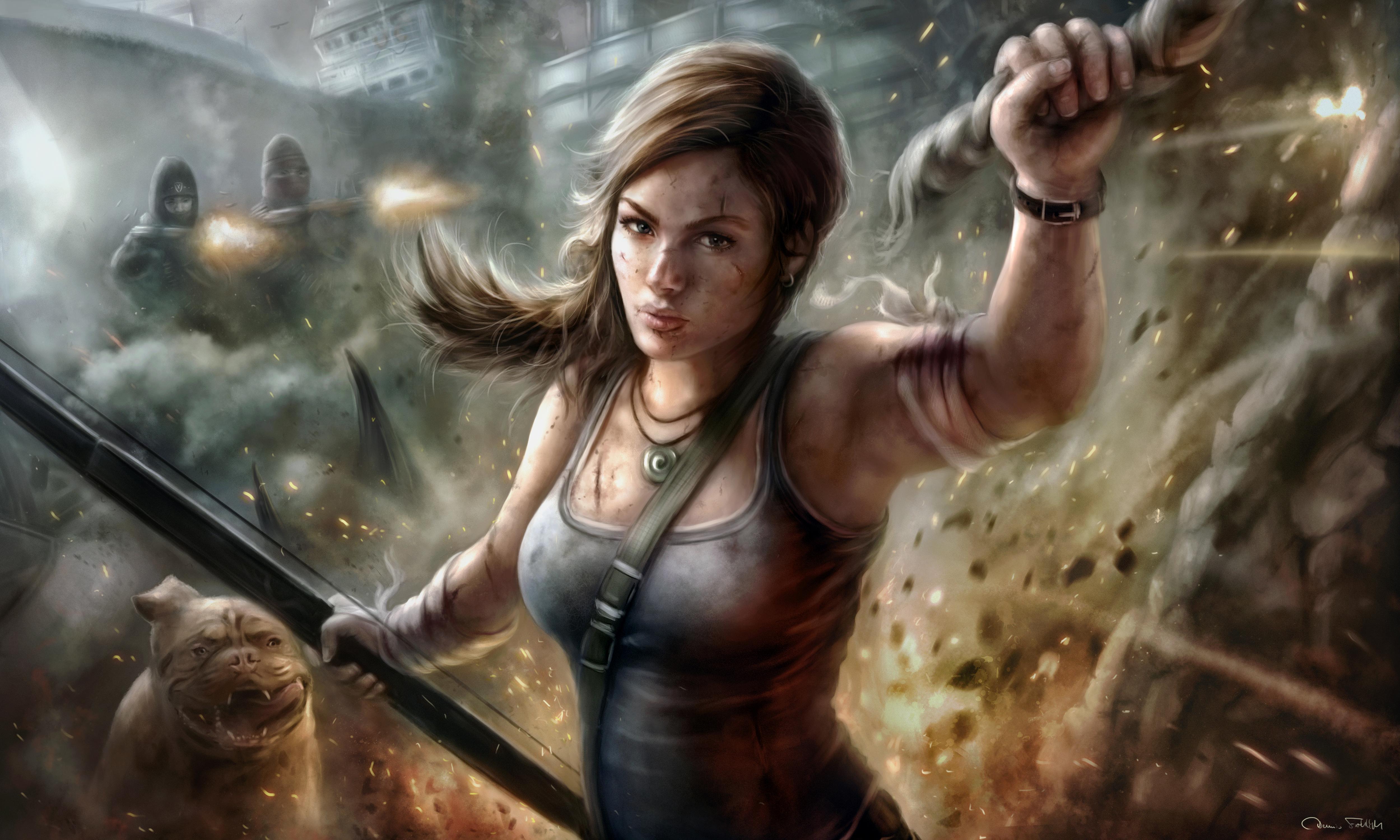 LaraCroft by Jorsch