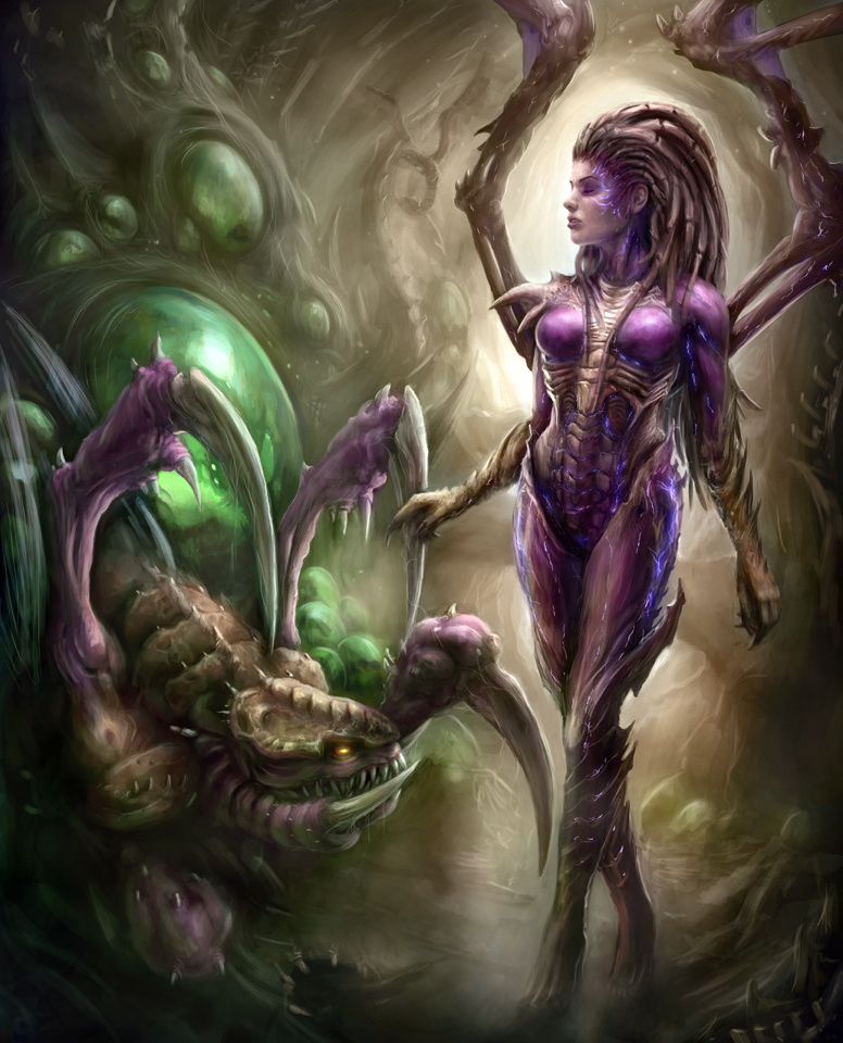 Starcraft / Sarcraft 2 Sarah Kerrigan / Sideshow ( XXX ) Queen_of_blades_by_jorsch-d61hk1b