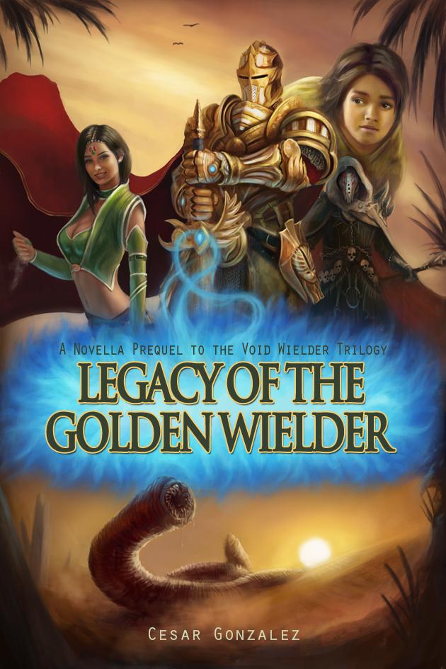 Legacy of the Golden Wielder - Cover by Jorsch
