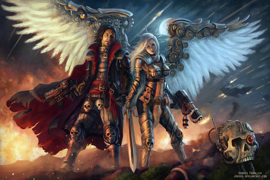 WH40k: Darius and Zayel