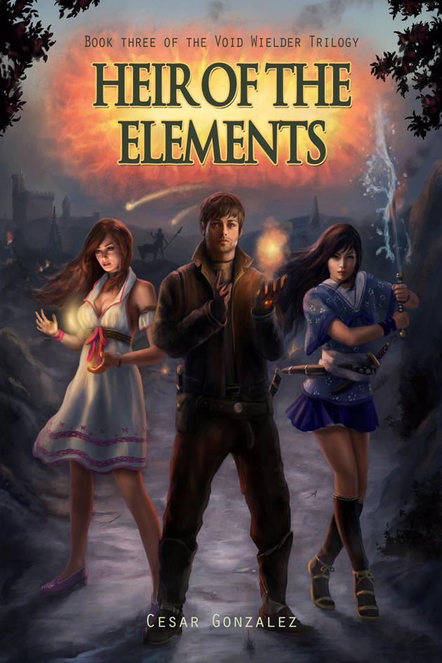 Cover: Heir of the Elements by Jorsch