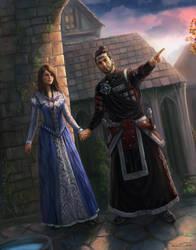 TESO: Luna and Kalius by Jorsch