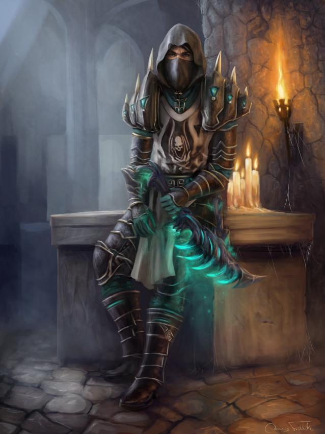 Seirthen the Rogue by Jorsch