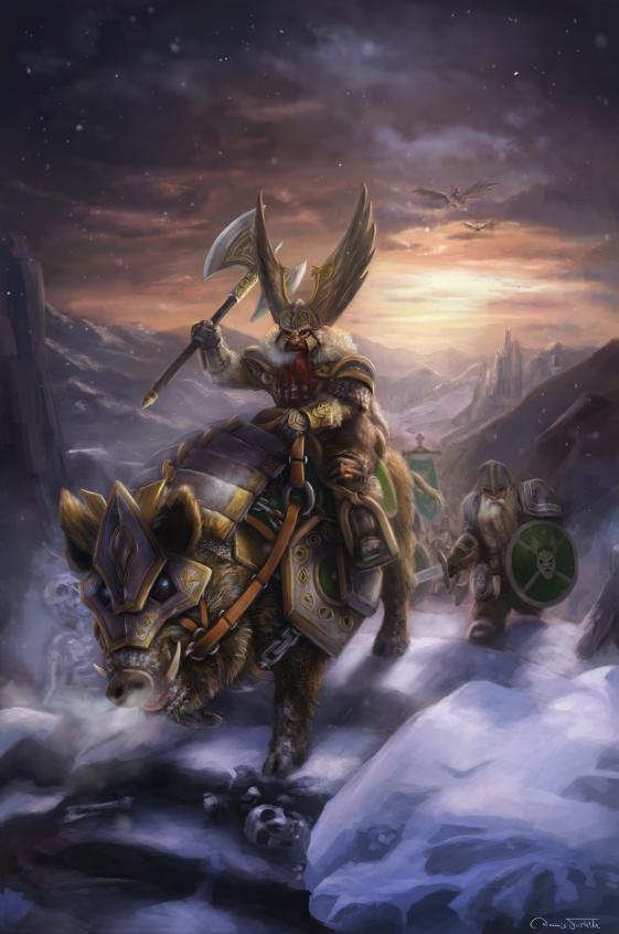 March of the Dwarves by Jorsch