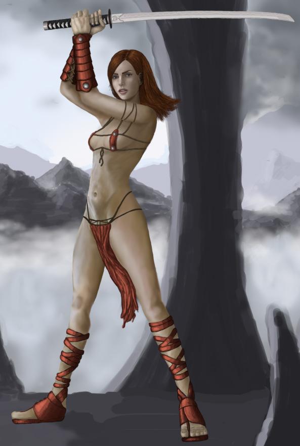 Fantasy Kensai by Jorsch