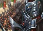 Arrodis Lightfury and his Blood Knights