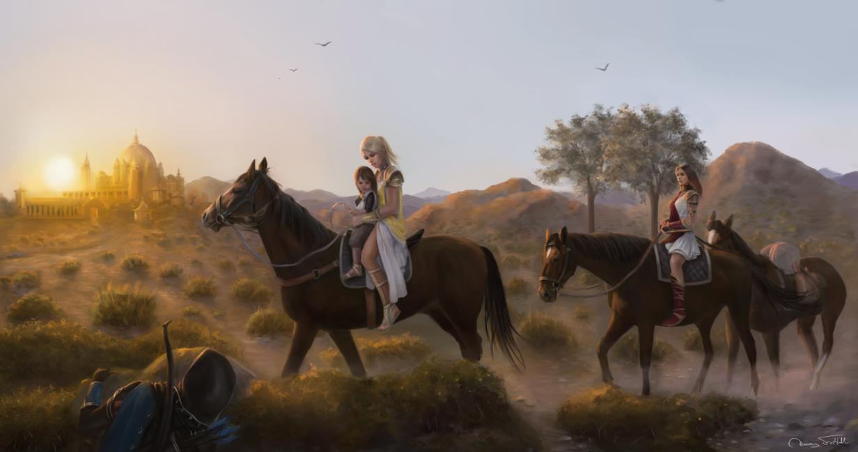 The journey to Arashiha Estate by Jorsch